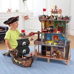 Игровой набор KidKraft Пиратский форт с кораблем